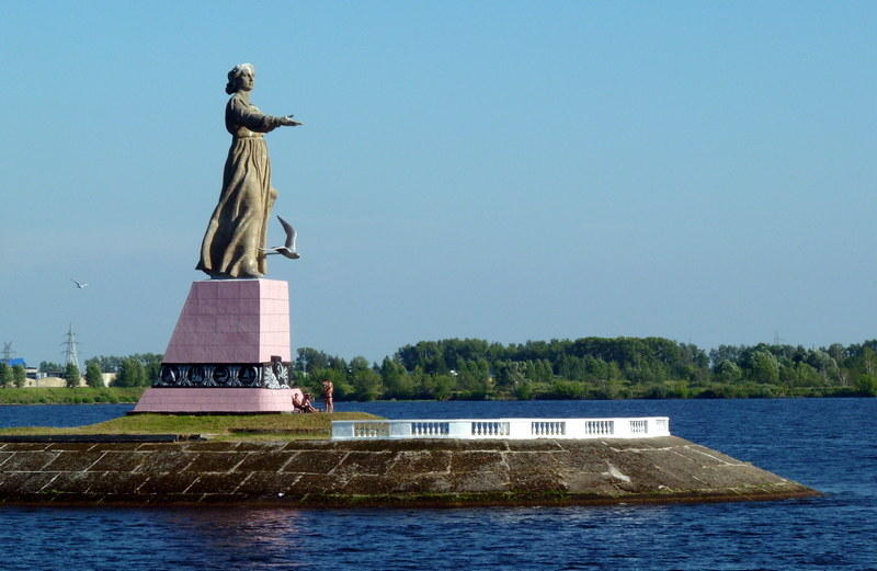 Rybinsk     Mother Volga